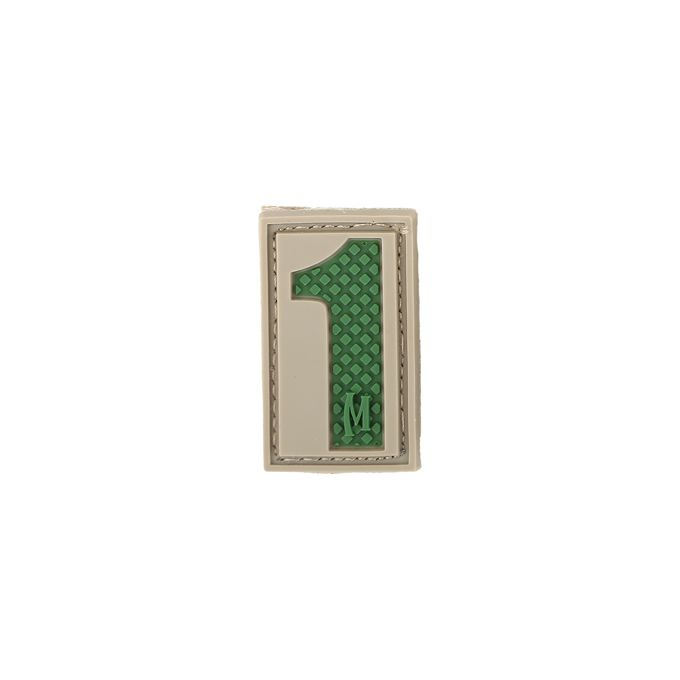 Number 1 Patch